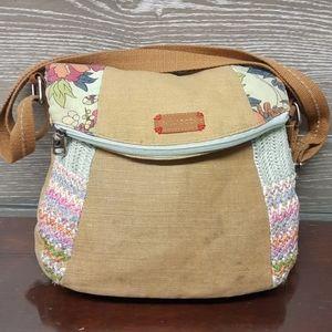 Sakroots cross body bag floral